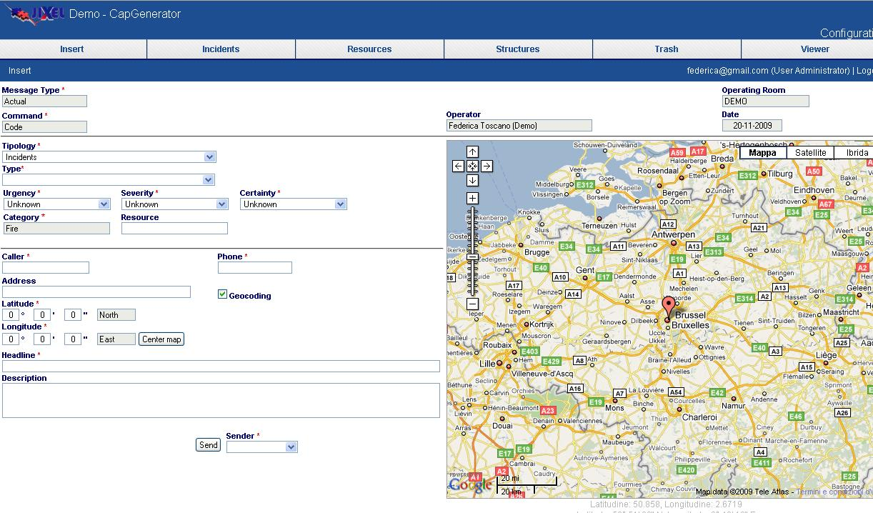 Cap Generator Create A New Jixel IES Solutions - Location map generator