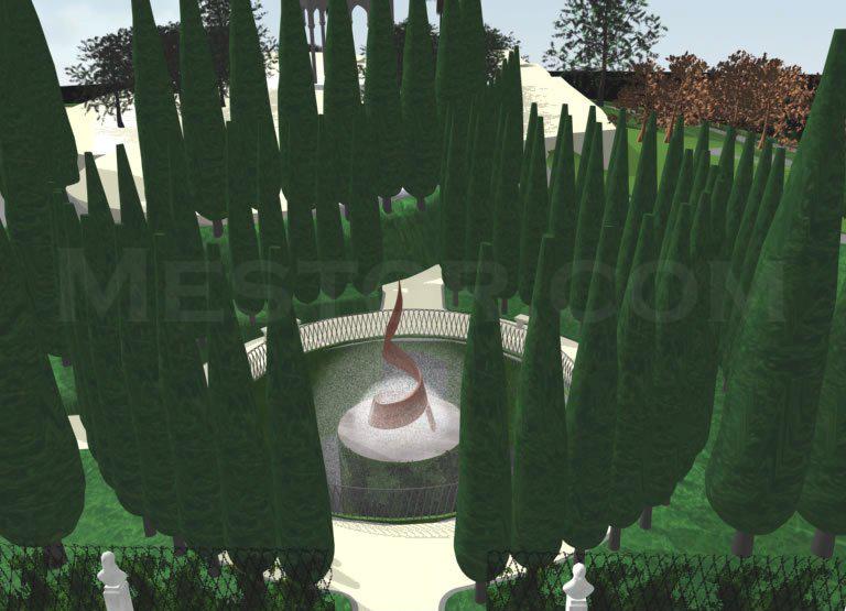 Giochi d'acqua nel labirinto Biscari